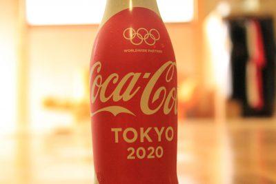 オリンピックデザインのコカ・コーラを買ってみた。