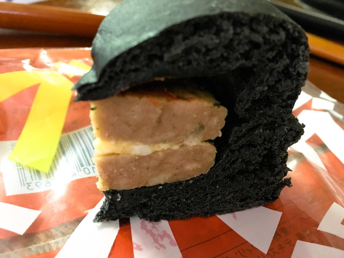 ダブルハンバーグパン