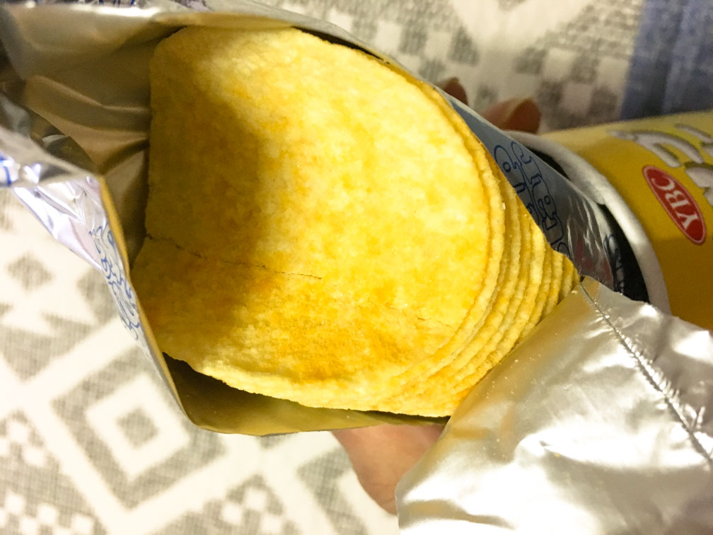チップスター トリプルチーズ味