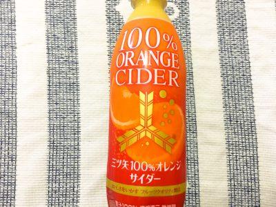 セブン&アイ限定!「三ツ矢100%オレンジサイダー」を飲んでみた!