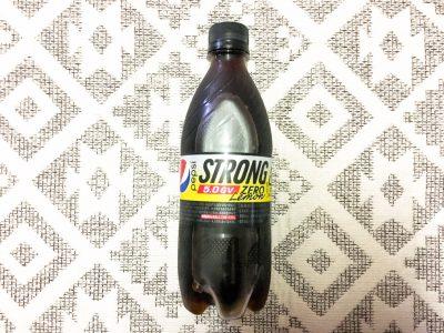 ペプシ「STRONG 5.0GV ZERO LEMON」を飲んでみた!