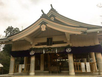 Ariill Designの初詣に米子市の勝田神社に御参りしたのだった!