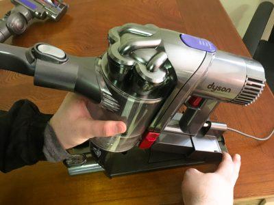 ダイソンの「Digital Slim(デジタルスリム) DC45 モーターヘッド」を買ってみた!