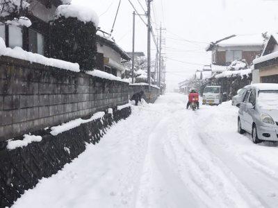 本日23日に降った雪がヤバイ!