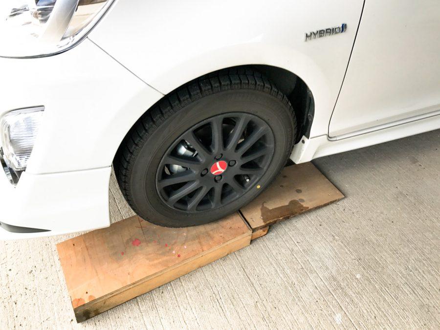 タイヤ交換 (10)