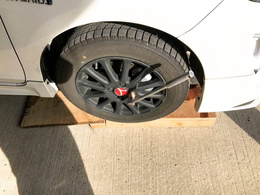 タイヤ交換 (7)