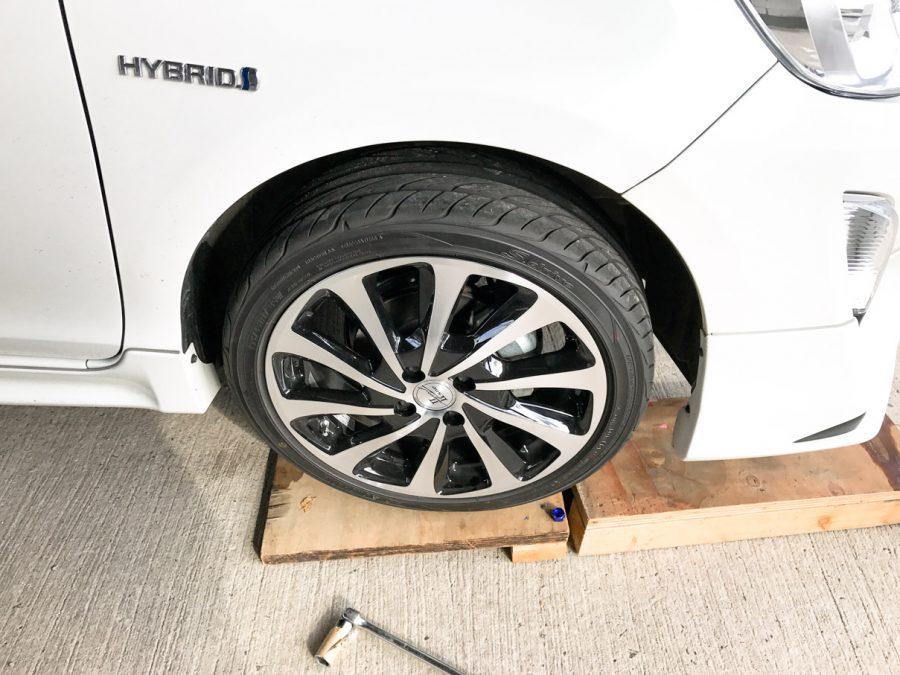 タイヤ交換 (4)