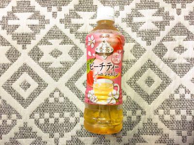 ダイドードリンコの「贅沢香茶 ピーチティーwithジャスミン」を飲んでみた!