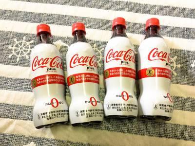 トクホのコーラ!「コカ・コーラ プラス」を飲んでみた!