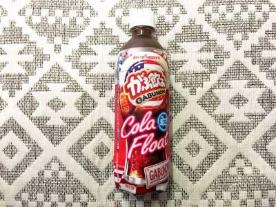 ポッカサッポロの「がぶ飲み コーラフロート」を飲んでみた!