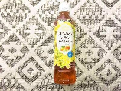 伊藤園の「はちみつレモンルイボスティー」を飲んでみた!