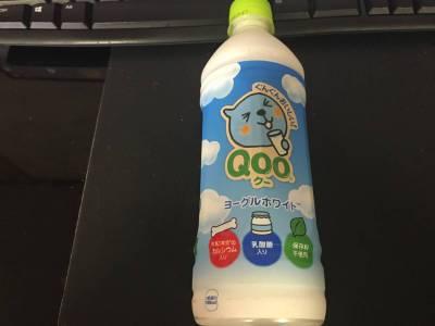 コカ・コーラの「Qoo ヨーグルホワイト」を飲んでみた!