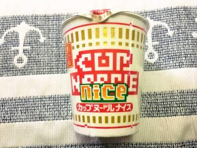 日清の「カップヌードル ナイス ポークしょうゆ」を食べてみた!