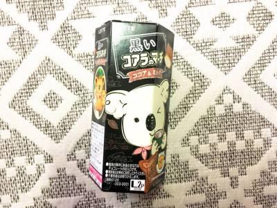 ロッテの「黒いコアラのマーチ ココア&ミルク」を食べてみた!