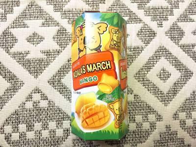 ロッテの「コアラのマーチ マンゴー」を食べてみた!