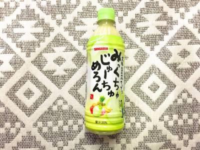 日本サンガリア・ベバレッジカンパニーの「みっくちゅじゅーちゅ めろん」を飲んでみた!