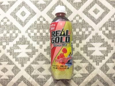 コカ・コーラの「リアルゴールド フレーバーミックス フルーツパンチ」を飲んでみた!
