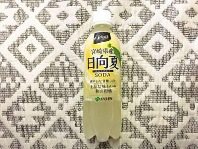 伊藤園の「Vivit's 宮崎県産日向夏 SODA」を飲んでみた!