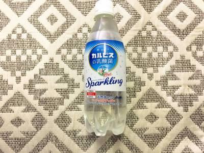 アサヒの「おいしい水 カルピスの乳酸菌スパークリング」を飲んでみた!