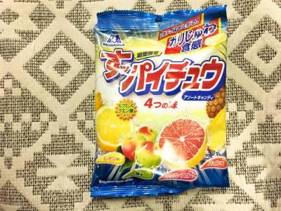 森永製菓の「すッパイチュウ」を食べてみた!