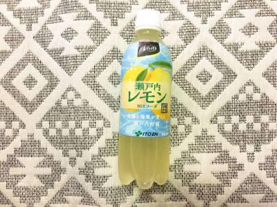 伊藤園の「Vivit's 瀬戸内レモン MIXソーダ」を飲んでみた!
