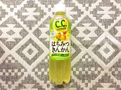 サントリーの「C.C.レモン はちみつきんかん」を飲んでみた!
