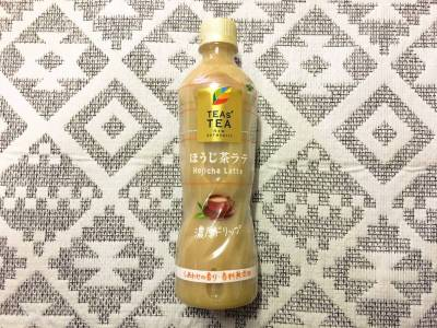 伊藤園の「TEAs' TEA NEW AUTHENTIC ほうじ茶ラテ」を飲んでみた!