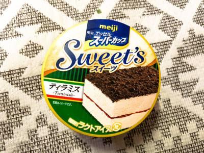 明治の「エッセルスーパーカップ Sweet's ティラミス」を食べてみた!