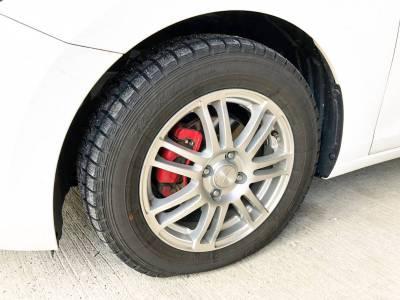 タイヤがパンクして修理した話。