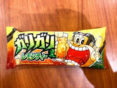 赤城乳業の「ガリガリ君 レモンティー味」を食べてみた!