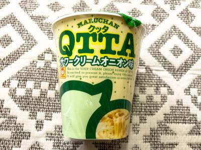 東洋水産の「マルちゃん QTTA サワークリームオニオン味」を食べてみた!