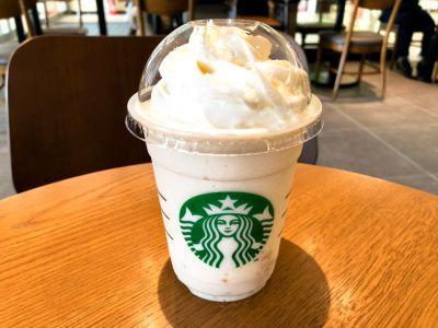 スタバの新作「ホワイトブリューコーヒー&マカダミアフラペチーノ」を飲んでみた!