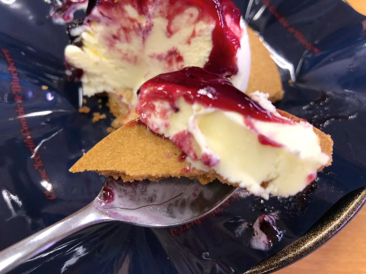 チーズアイス クッキー&ブルーベリー