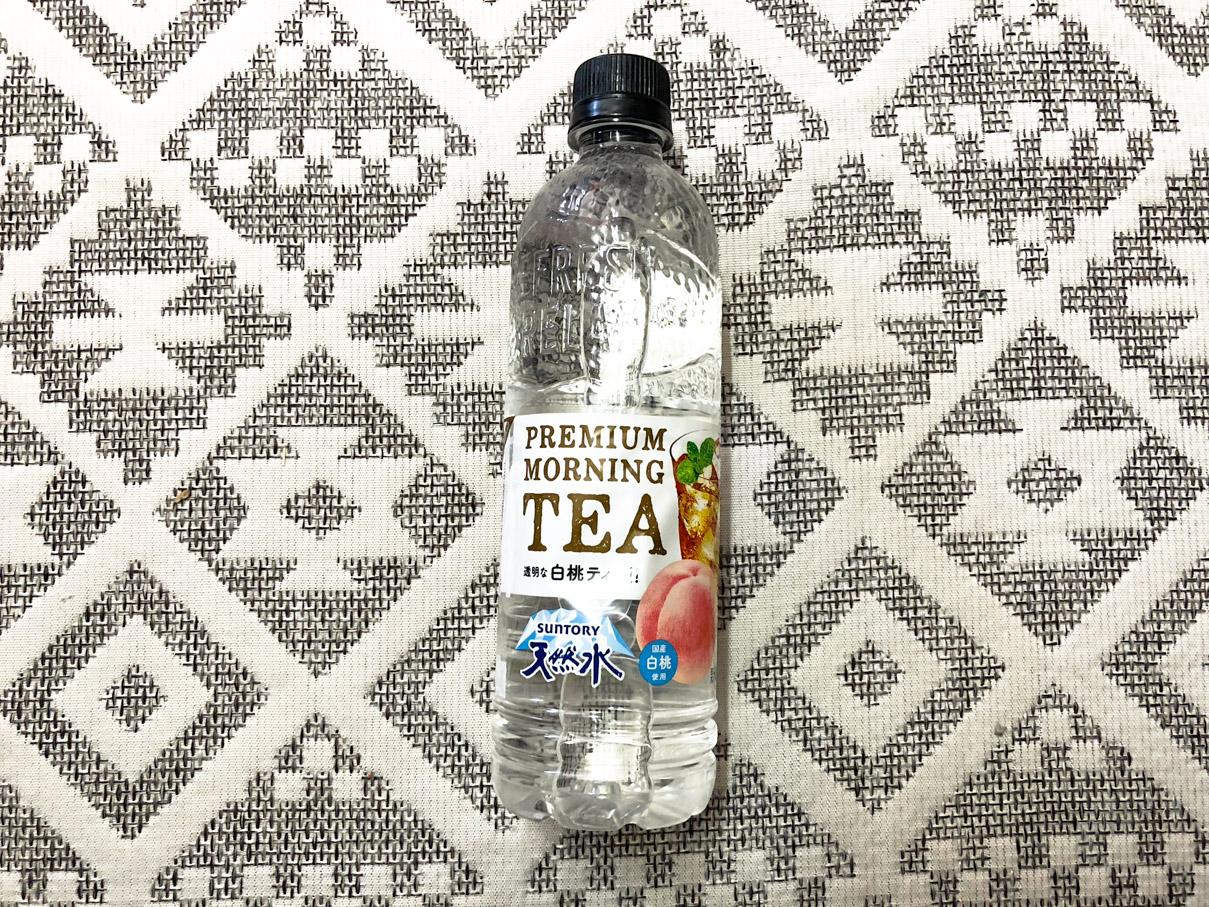 サントリー 天然水 PREMIUM MORNING TEA 白桃