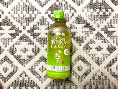 伊藤園の「お~いお茶 新緑」を飲んでみた!
