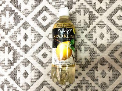 花王の「ヘルシア スパークリング レモン」を飲んでみた!