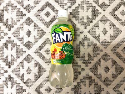 沖縄限定!コカ・コーラの「ファンタ シークワーサー」を飲んでみた!