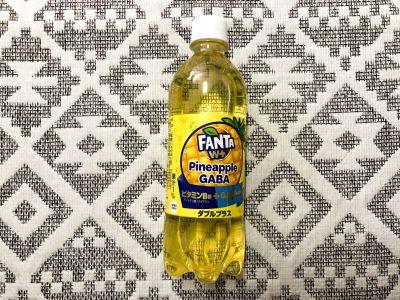 コカ・コーラの「ファンタ W+ パイナップルギャバ」を飲んでみた!