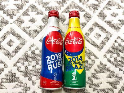 期間限定の「コカ・コーラ スリムボトル FIFA ワールドカップ限定デザイン」を買ってみた!