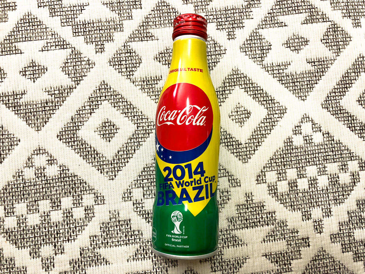 コカ・コーラ スリムボトルFIFA ワールドカップ限定デザイン