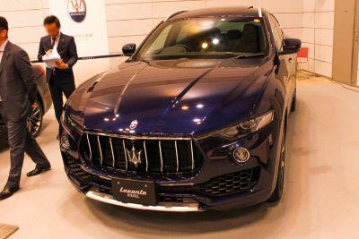 Maseratiのブースに行ってみた!【山陰モーターフェス2018】
