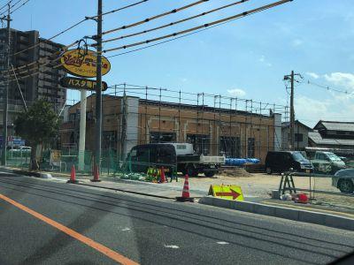 「ジョリーパスタ 出雲姫原店」建設中です。