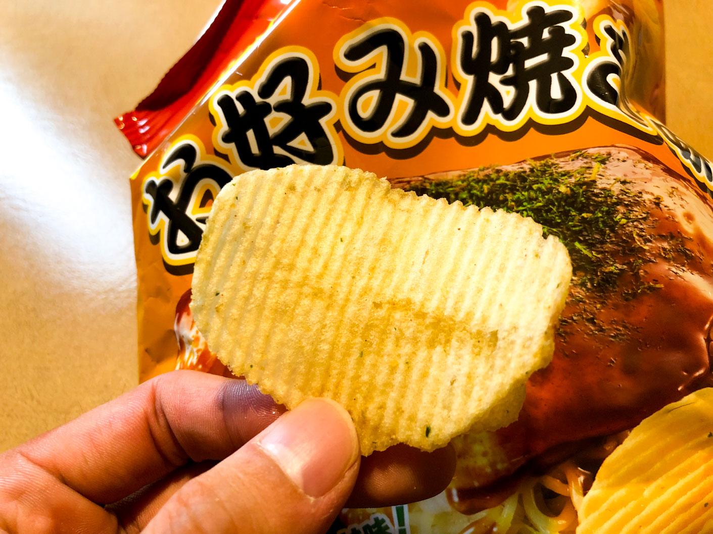 ポテトチップス 広島風お好み焼き味