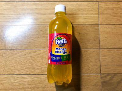 コカ・コーラの「ファンタ マンゴーチャージ」を飲んでみた!