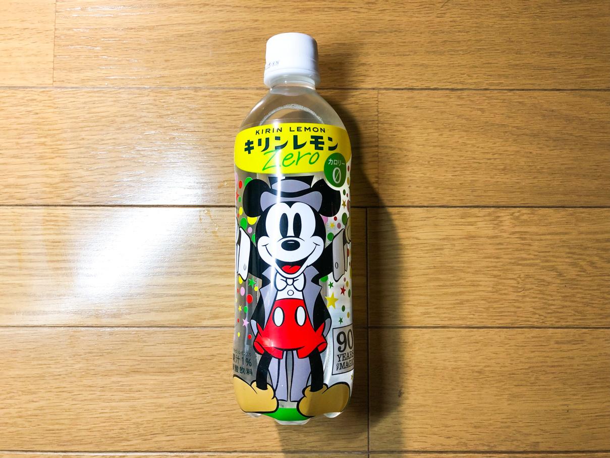 キリンレモン ゼロ ミッキーマウスデザインパッケージ