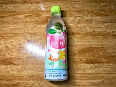 KIRINの「小岩井 純水白桃」を飲んでみた!