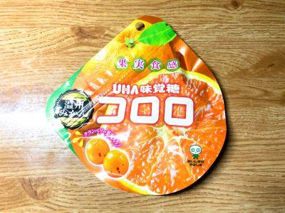 UHA味覚糖の「コロロ 温州みかん」を食べてみた!