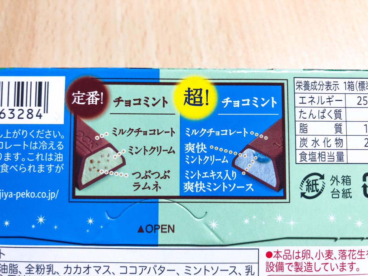 ルック2 チョコミント食べくらべ
