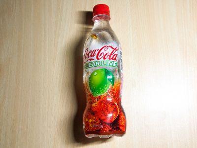 コカ・コーラの「コカ・コーラ クリアライム」を飲んでみた!