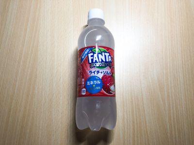 コカ・コーラの「ファンタ よくばりミックス ライチ+ソルト」を飲んでみた!
